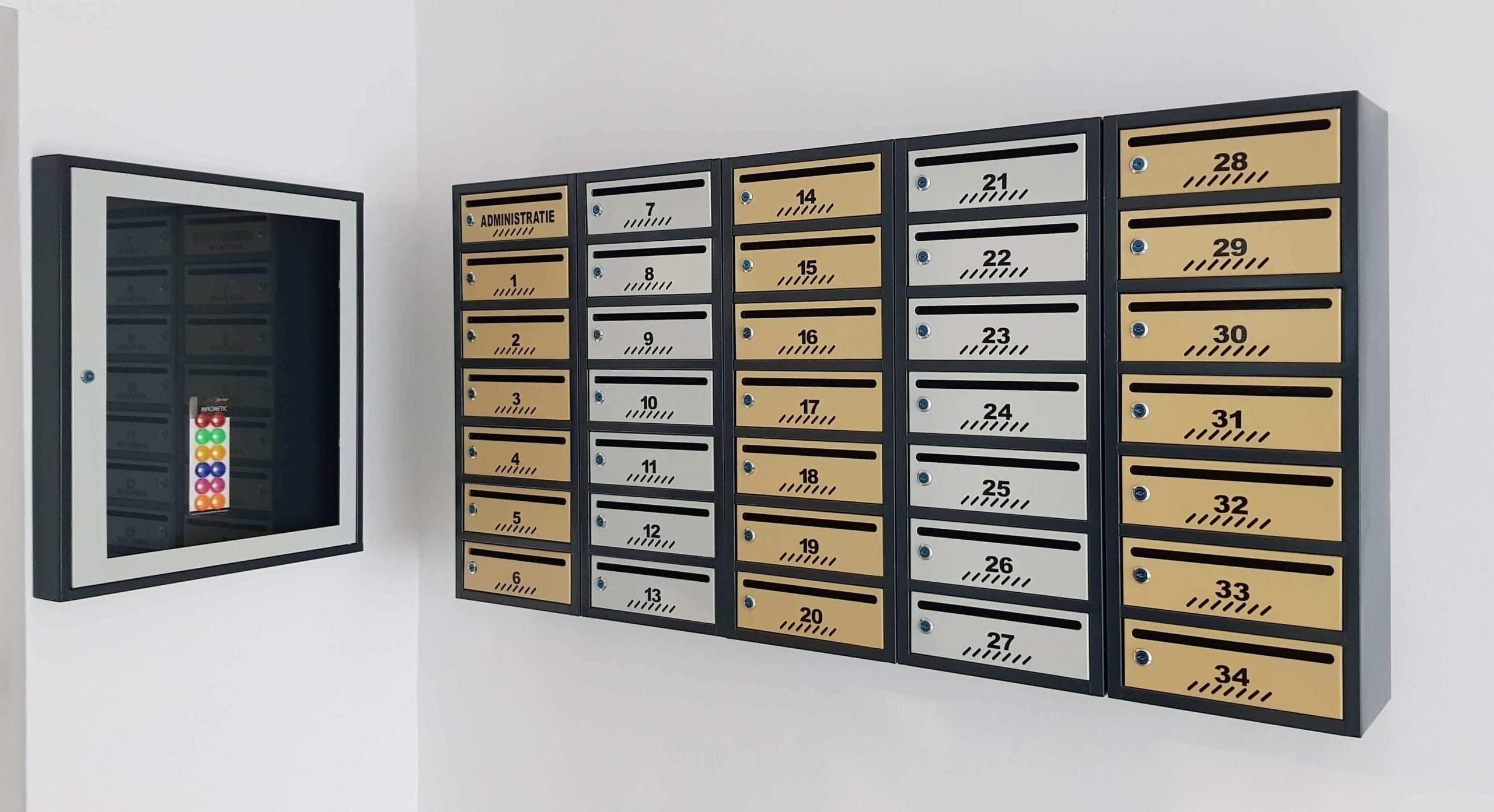 cutii postale eurometal